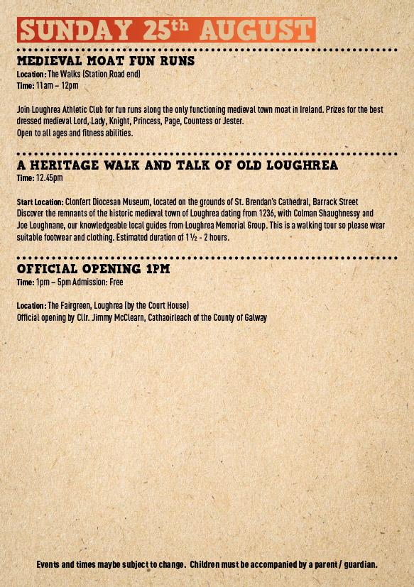 News - Loughrea Medieval Festival