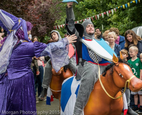 The Joust Loughrea Medieval Festivak