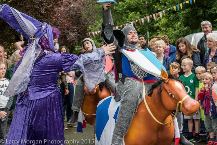 The Joust Loughrea Medieval Festivak