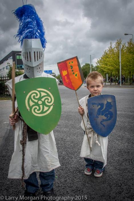Loughrea Grand Clan Parade