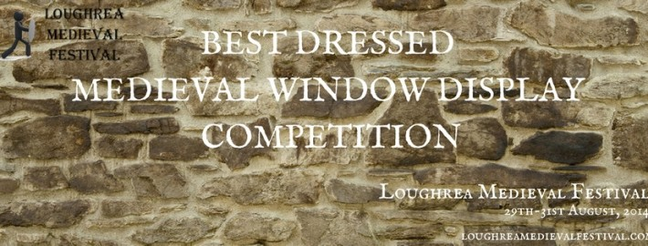 Best Dressed Medieval Window Display Competition