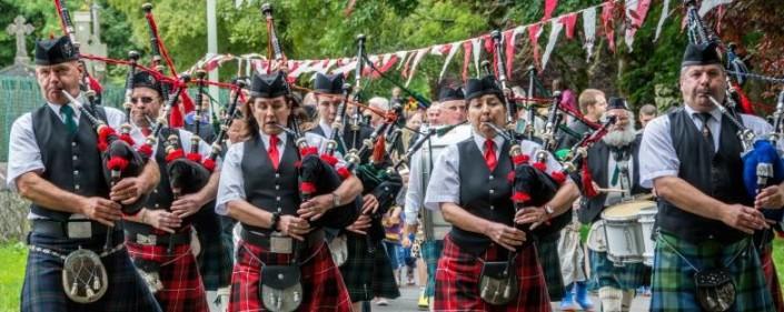 Loughrea Medieval Festival Grand Clan Parade