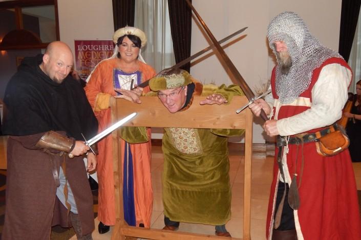 Loughrea Medieval Clan Banquet 2015