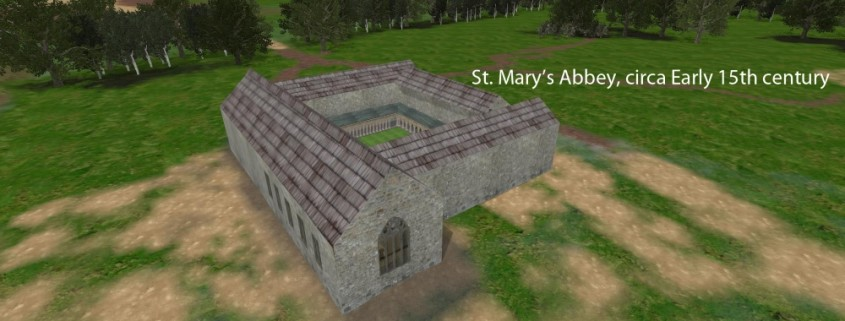 Digital 3D Reconstruction of Medieval Loughrea