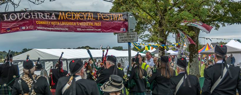 Loughrea's Second Medieval Festival a Great Success